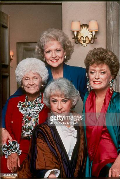 THE GOLDEN GIRLS - 9/24/85 - 9/24/92, BETTY WHITE; ESTELLE GETTY, RUE MCCLANAHAN; BEA ARTHUR,