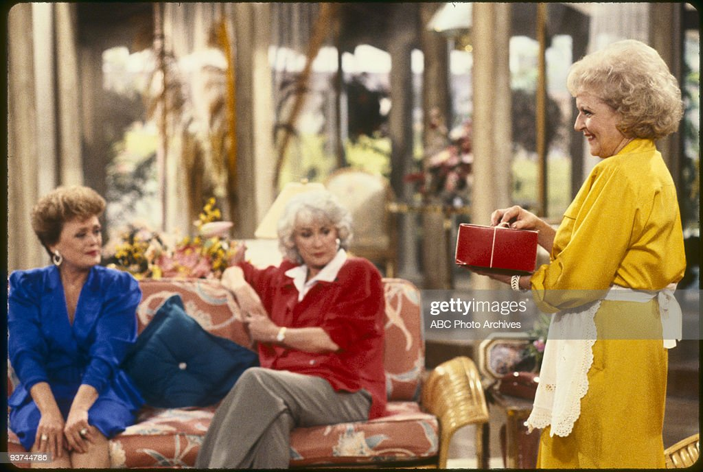 THE GOLDEN GIRLS - 9/24/85 - 9/24/92, RUE MCCLANAHAN, BEA ARTHUR, BETTY WHITE,