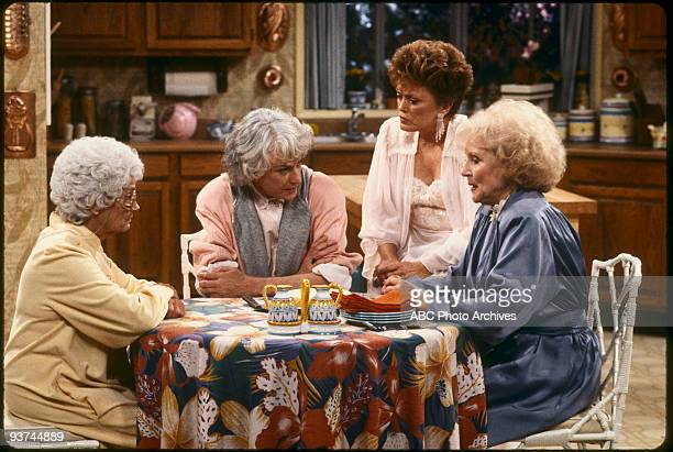 THE GOLDEN GIRLS - 9/24/85 - 9/24/92, ESTELLE GETTY, BEA ARTHUR, RUE MCCLANAHAN, BETTY WHITE ,