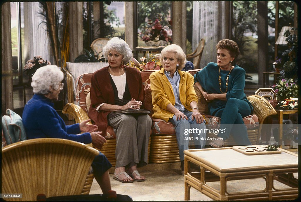 THE GOLDEN GIRLS - 9/24/85 - 9/24/92, ESTELLE GETTY, BEA ARTHUR, BETTY WHITE, RUE MCCLANAHAN,