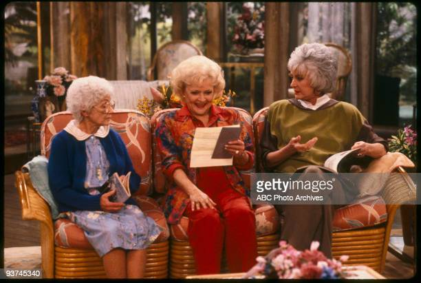 THE GOLDEN GIRLS - 9/24/85 - 9/24/92, ESTELLE GETTY, BETTY WHITE, BEA ARTHUR,