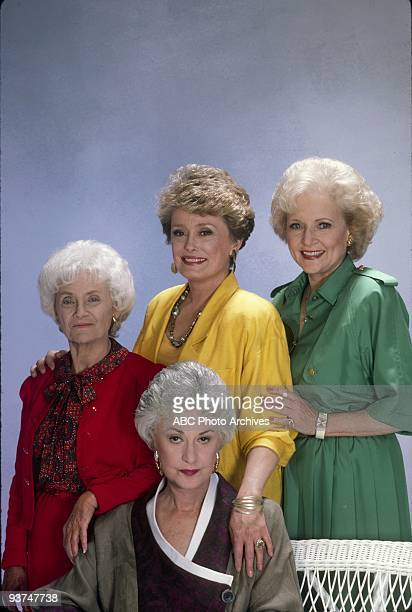 THE GOLDEN GIRLS - 9/24/85- 9/24/92, ESTELLE GETTY, BEA ARTHUR, RUE MCCLANAHAN, BETTY WHITE,