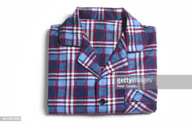 mens pyjamas ready for bed - pyjamas stock pictures, royalty-free photos & images