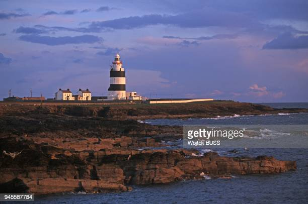 IRELAND ,CO. WEXFORD,HOOK HEAD,LIGHTHOUSE.