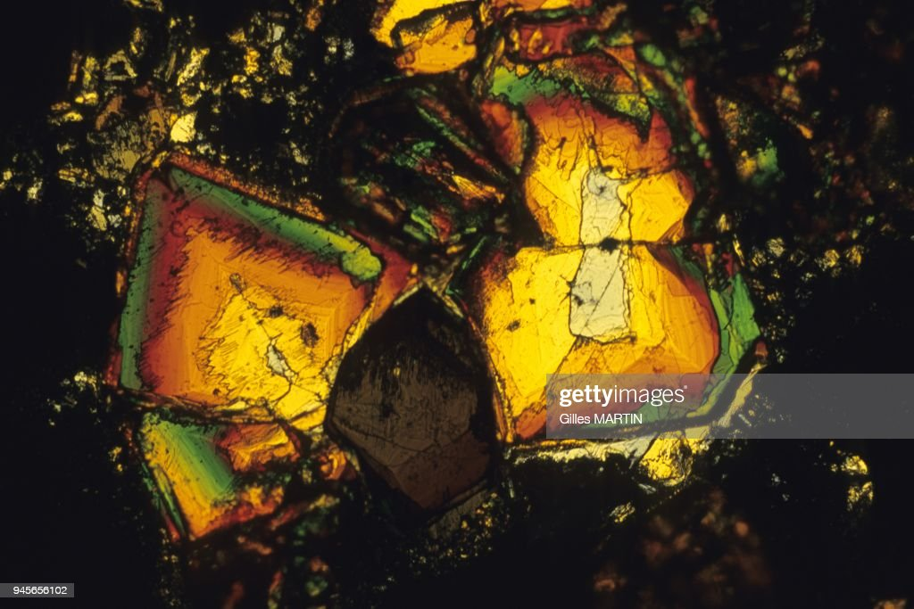 PYROXENE BASALT (TITANIFEROUS AUGITE) : News Photo