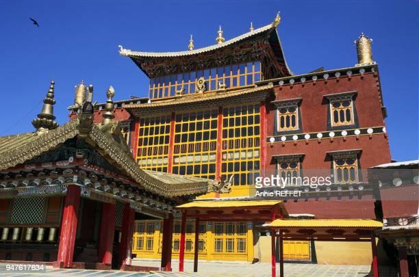 MONASTERE TIBETAIN DE SONGZALIN, ZHONGDIAN, YUNNAN, CHINE.