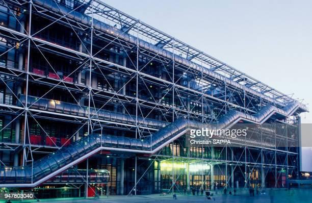 LE CENTRE POMPIDOU, PARIS 4, FRANCE.