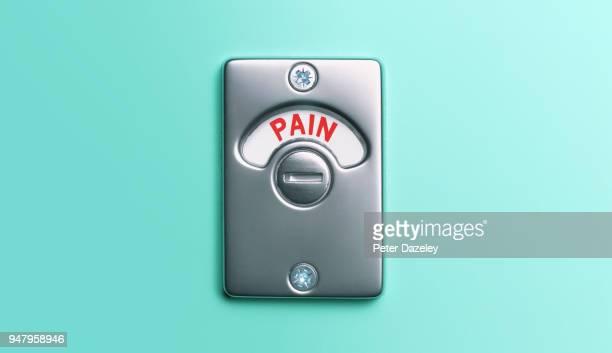pain toilet door lock - hemorrhoid stock photos and pictures
