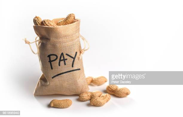 pay discrimination, poor pay - wage gap stock photos and pictures