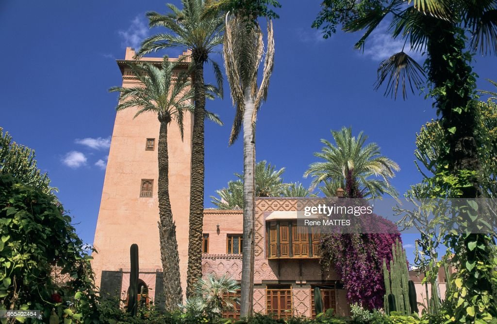 Jardins Majorelle Marrakech Maroc Pictures Getty Images