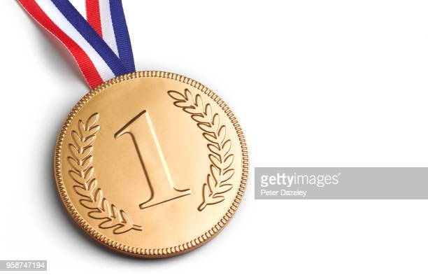 first place medal - medalist stock pictures, royalty-free photos & images