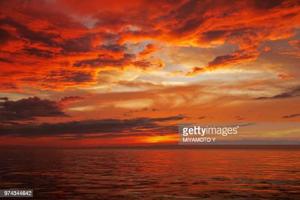 sunset - miyamoto y ストックフォトと画像