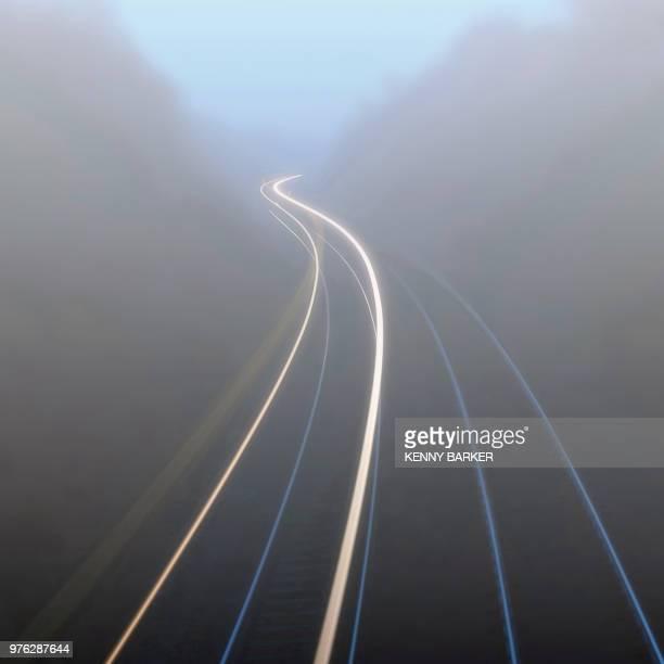 mistery train - mistery foto e immagini stock