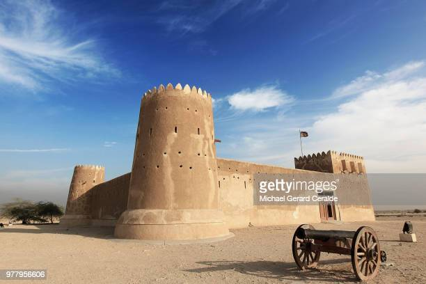 fort zubarah - fortress stock pictures, royalty-free photos & images