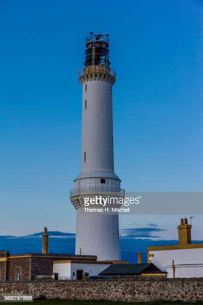scotland-aberdeen-girdle ness lighthouse - girdle stock pictures, royalty-free photos & images