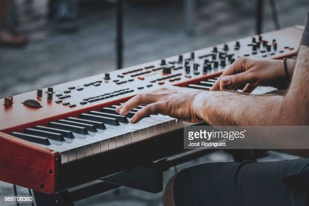 keyboard jazz - piano key stock pictures, royalty-free photos & images