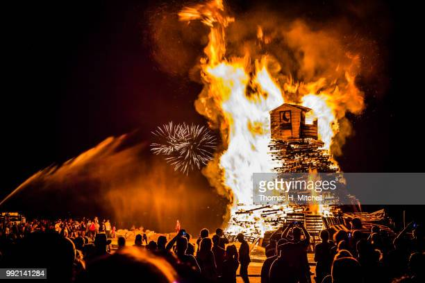ma-rocport-independence celebration bonfire - burns night stock pictures, royalty-free photos & images