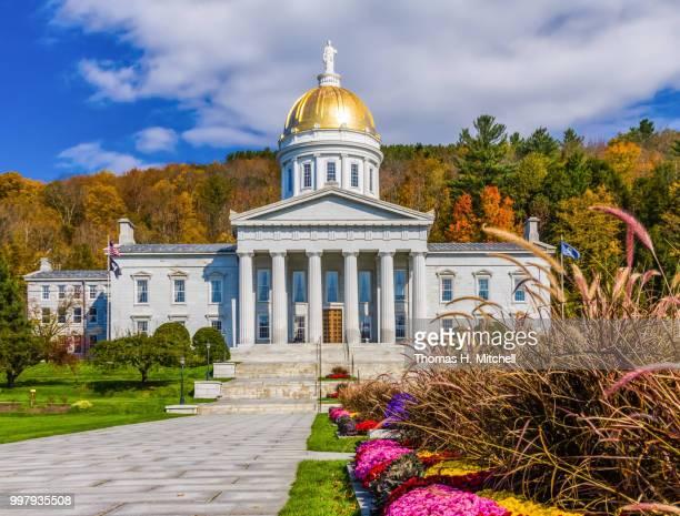 vt-montpelier-state capitol building - montpelier vermont stockfoto's en -beelden