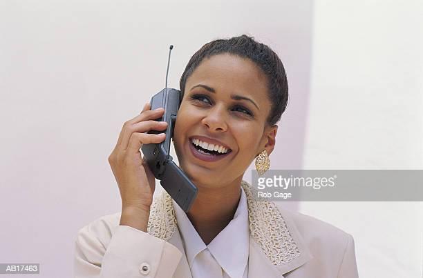BUSINESSWOMAN W/CELLULAR PHONE