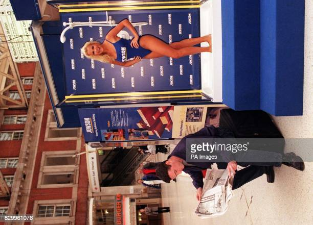 BEFORE 0001hrs MONDAY OCTOBER 6 1997 Page 3 pinup Melinda Messenger takes a shower as a survey by Jewson Britain's best builders merchants shows that...