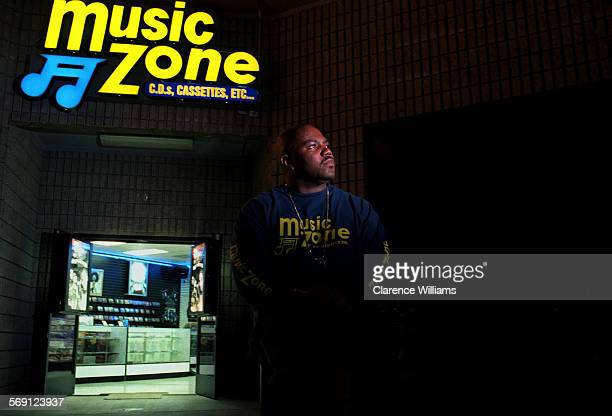 SO0316uneek––Grammy winning hip–hop producer U–Neek has opened a record store called Music Zone 4004 S Vermont