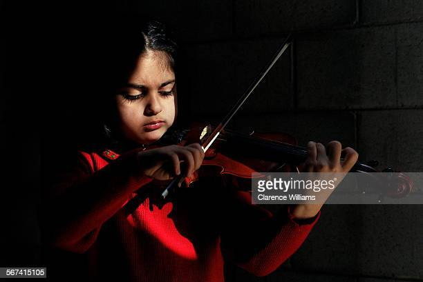 SO0511prodigy2––Ani Bukujian a 6–year–old violin prodigy from Glendale will be the youngest performer in a re–creation of Antonio Vivaldi s all–girl...