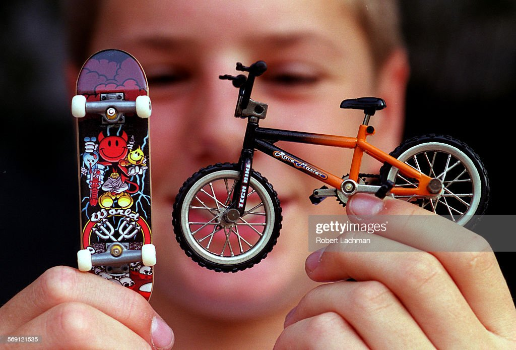 Fi 0731 Techdeck2 Rl Steven Asher Holds A Tech Deck Skateboard And News Photo Getty Images