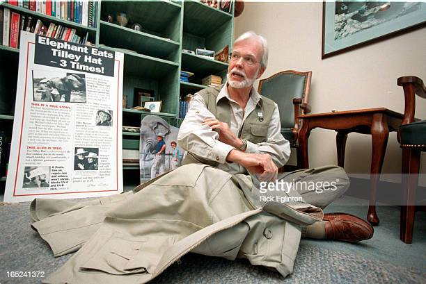 Toronto On Rick Eglinton Toronto Star13 photos of Alex Tilley Tilley in his office seated on floor telling us about the features of his vest design...