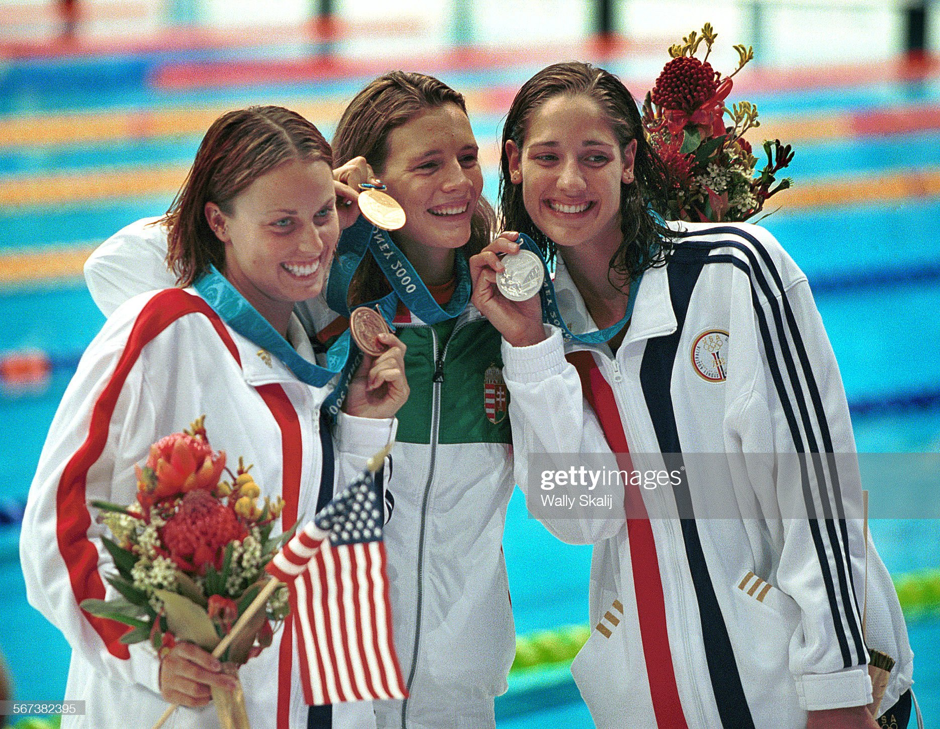 016030.SP.0921.oly3.WS Swimming Finals were held at the Olympic Park Aquatic Center on 9/21/00. The : Fotografía de noticias