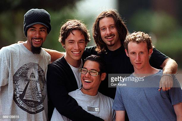 CA0927incubus1CK This LA band called Incubus has become one of the rising forces in hard–rock genre Photo taken outside of Artist Direct at 5670...