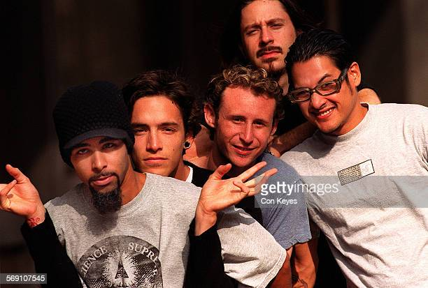 CA0927incubus3CK This LA band called Incubus has become one of the rising forces in hard–rock genre Photo taken outside of Artist Direct at 5670...