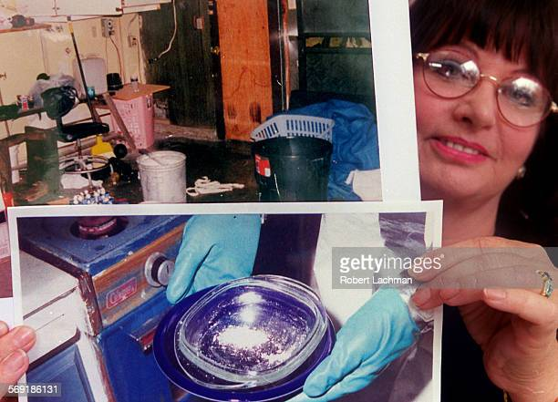 ME1005drugs1rl –– Cher DeCant deputy district attorney and project manager of the Drug Endangered Children Project is photographed outside the...