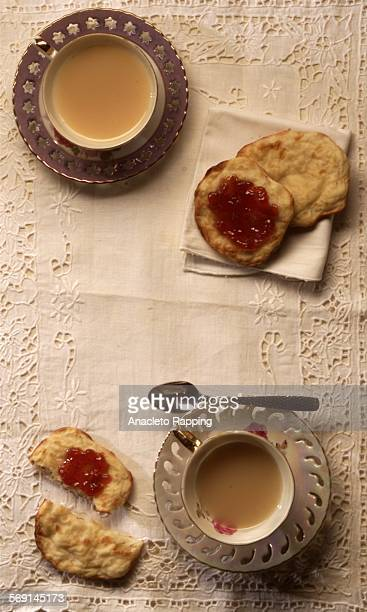 Tea with Crumpets Studio photography of food products and dishes shot 10/25/00