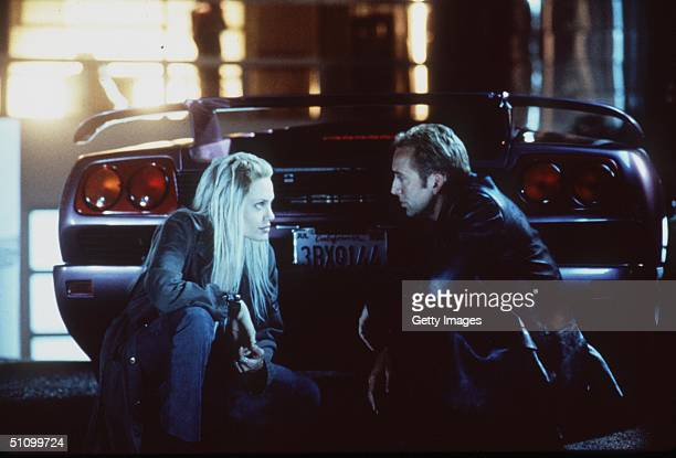 Angelina Jolie And Nicolas Cage In 'Gone In Sixty Seconds'