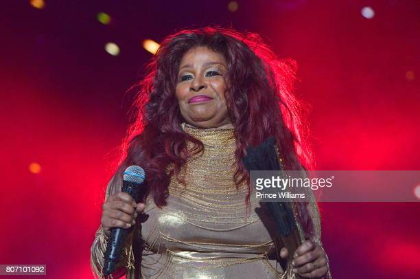 Chaka Khan performs during the 2017 ESSENCE Festival Presented by Coca Cola at the MercedesBenz Superdome on July 1 2017 in New Orleans Louisiana