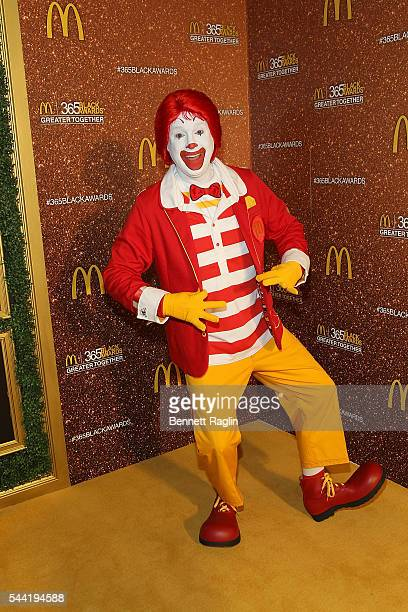 Ronald Mc Donald attends the 13th Annual McDonald's 365Black Awards on July 1 2016 in New Orleans Louisiana