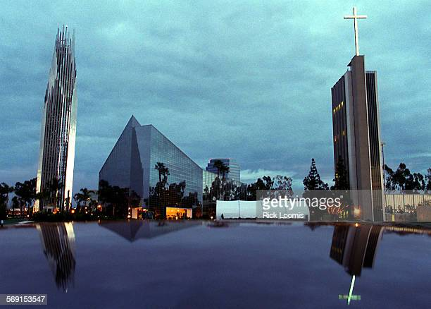 Crystal.1.RL––Garden Grove––The Crystal Cathedral will soon add another building to its complex, which should be completed in 2002.