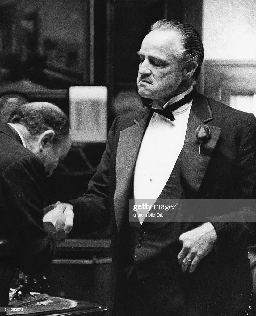 Schauspieler Usa Im Film Der Pate 1972 News Photo