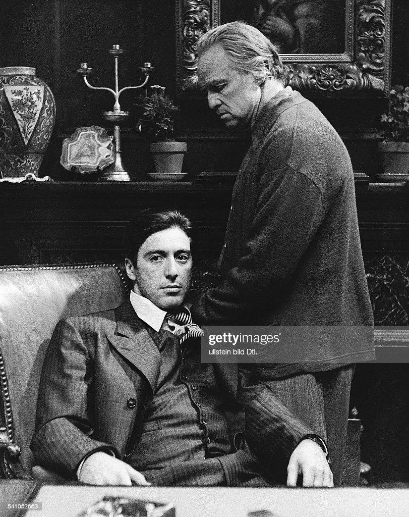Schauspieler Usamit Al Pacinoim Film Der Pate 1972 News