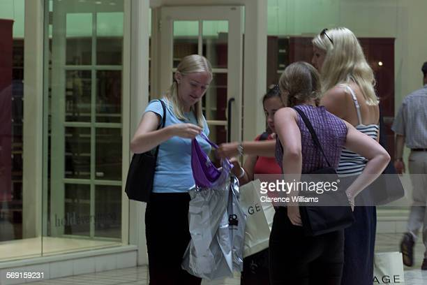 FI0714shopping3––With a tax rebate on the way and a dipping economy many of the stores at the Beverly Center having huge sales On Saturday July 14 as...