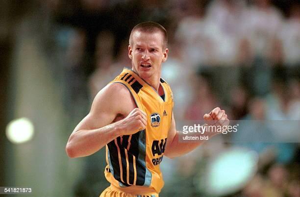 Sportler Basketball D Halbfigur im Spiel