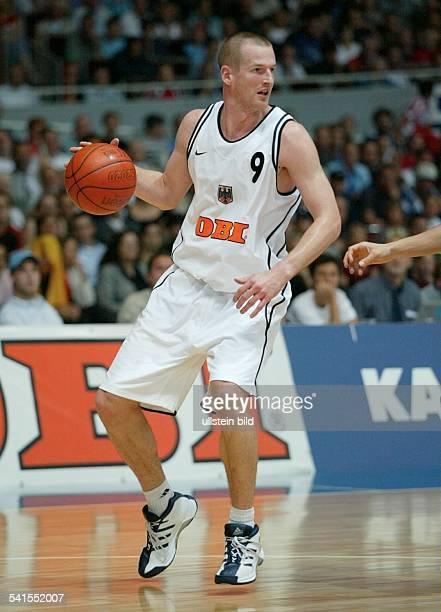 Sportler Basketball Dim DBBTrikot als Nationalspieler