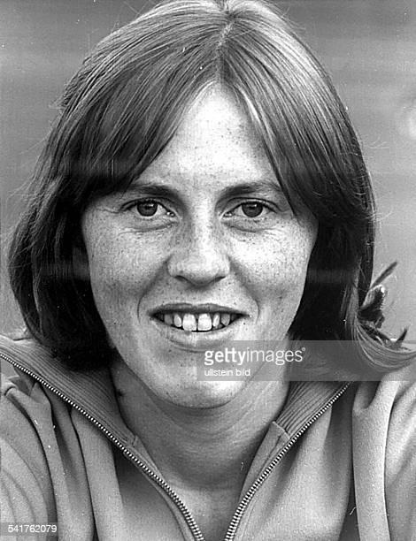 * Sportlerin Leichtathletik Hochsprung DDRPorträt Februar 1976