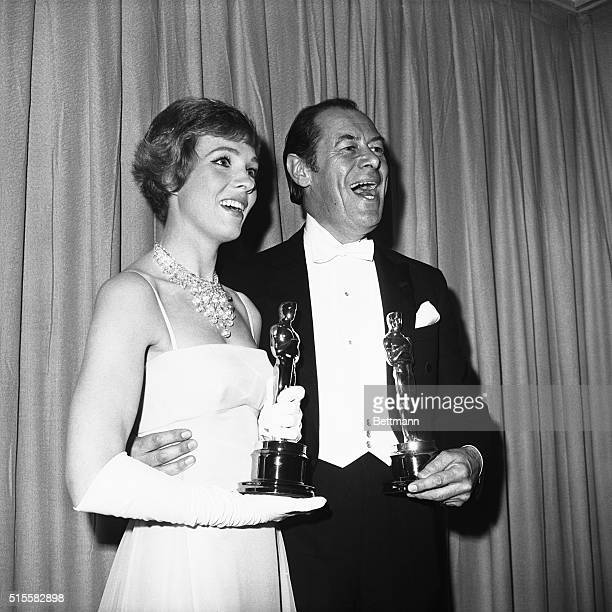 Santa Monica California Two natives of Great Britain share top honors in the American film industry with big smiles are actresses Julie Andrews and...
