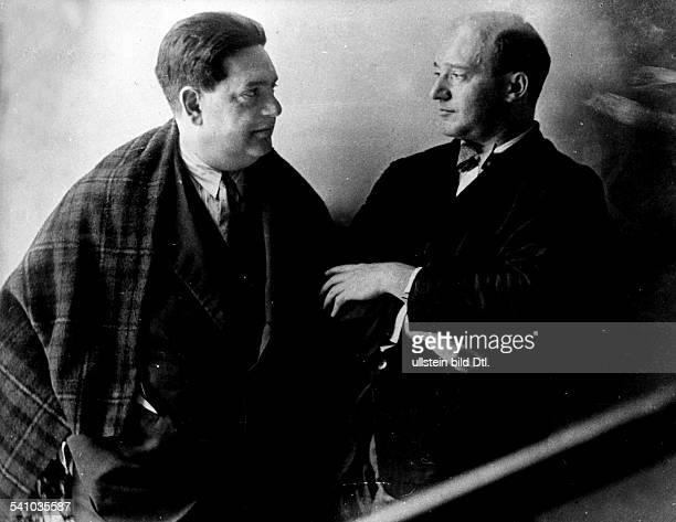 *04091892Musiker Komponist Frankreichmit Generalmusikdirektor Erich Kleiber 1930