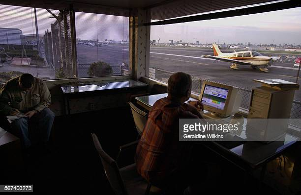 ME0108airport2GW––Fullerton Municipal Airport is the last general aviation airfield still in Orange County The pilot's lounge has a full view of...