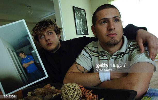 Tony was best friends with Nick Brown the 21yearold who was fatally stabbed on the subway early Friday morning Tony Caruso and brother Fiore and Nick...