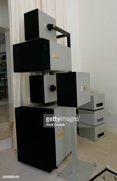 The Full Epilogue speakers costing $300000 The Swiss–based company Goldmund and their high end audio/media equipment for a Big Spender
