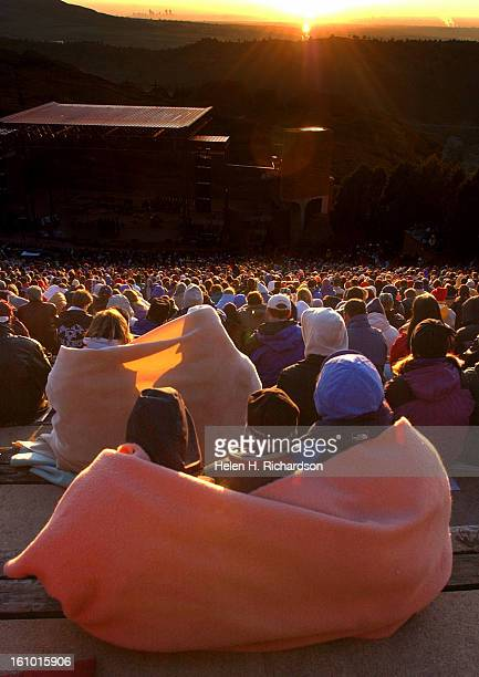 04_20_03_cd21sunriseThousands of people woke up before the crack of dawn to take part in the 56th annual Easter Sunrise Service at Red Rocks...