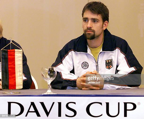 Sportler Tennis DAuslosung 1 Spiel beim Daviscup Kroatien gegen Deutschland in Zagreb